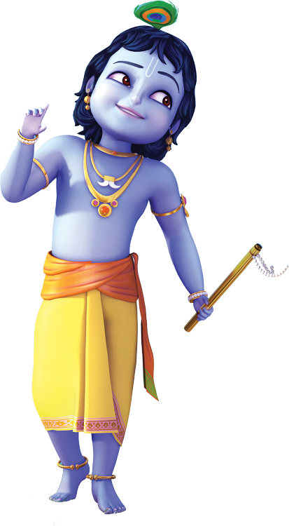 Reliance Animation — Little Krishna Character 1