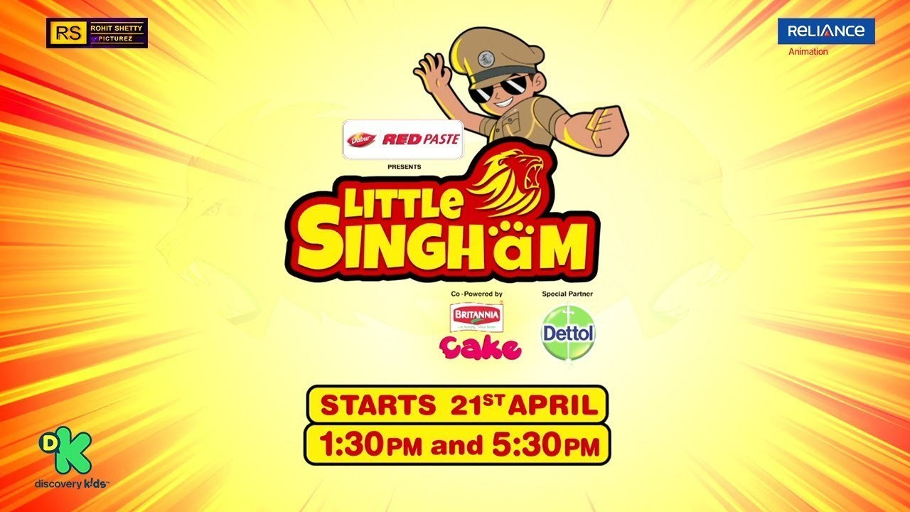 Little Singham Official Release Poster